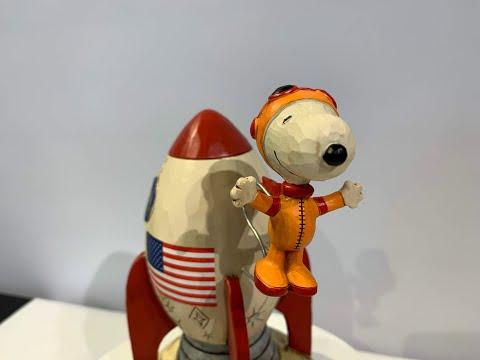 【スヌーピー】ジムショアー ピーナッツ作品紹介「Snoopy Astronaut」