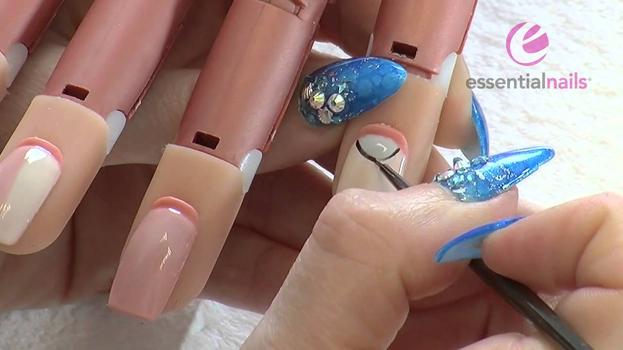 Gelaze UV Gel Polish - Natural Collection Nail Art - YouTube