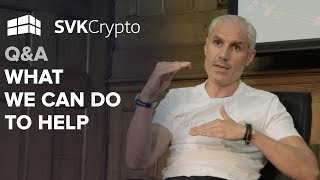What we can do to help | Q&A at the Crypto Investor Show