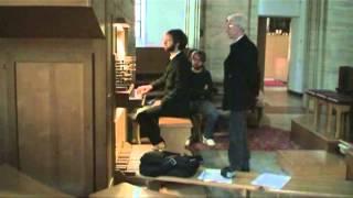 Johannes Brahms. Praeludium und Fuge in G moll.mpg