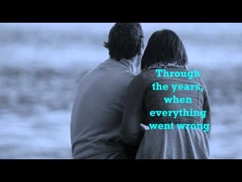 KENNY ROGERS - THROUGH THE YEARS [w/ lyrics]