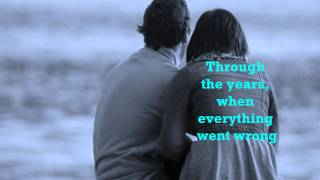 Repeat youtube video KENNY ROGERS - THROUGH THE YEARS [w/ lyrics]