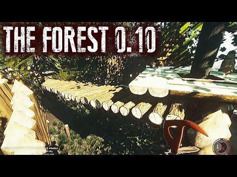 Actualización THE FOREST 0.10  #35 - Más construcciones, más mutantes, más plantas, de todo!!!
