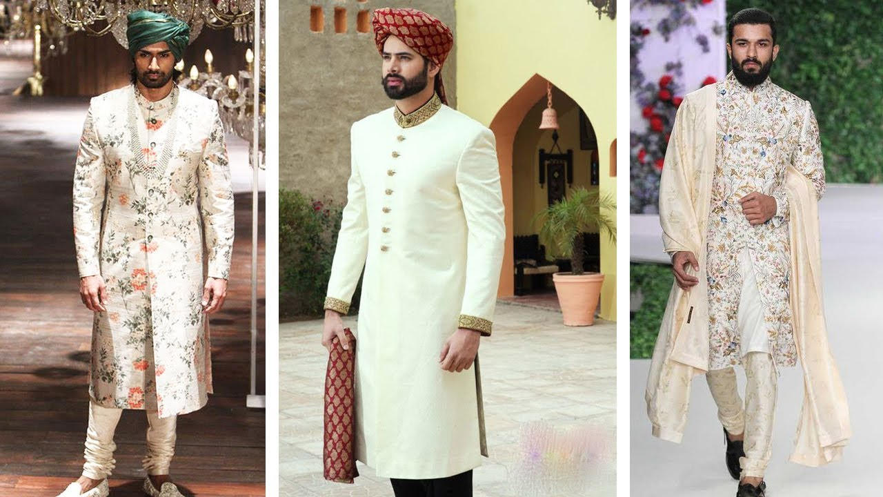 746755c05b TOP 20 LATEST DESIGNER SHERWANI for MEN | Wedding Dress for Men ...