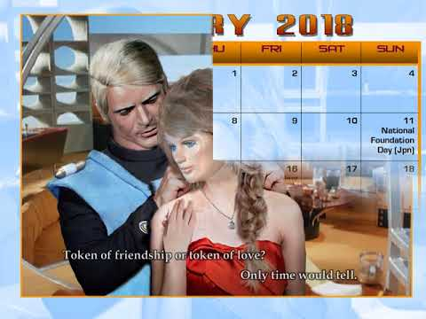Spectrum is Gold - 2017-2018 Captain Scarlet Unofficial Calendar