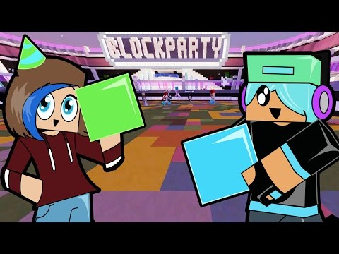 Minecraft / Block Party / I danced their faces off! / Gamer Chad Plays