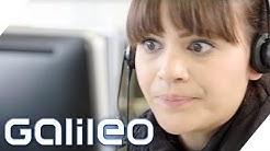 So hart ist der Job im Call Center | Galileo | ProSieben