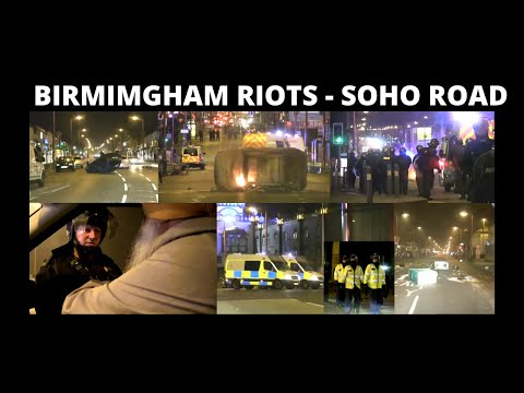Sangat TV at Birmingham (Soho Road) Riots (7 August 2011)