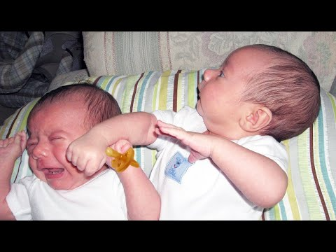 Funny Newborn Baby Doing Weird Thing - Funny Baby Videos