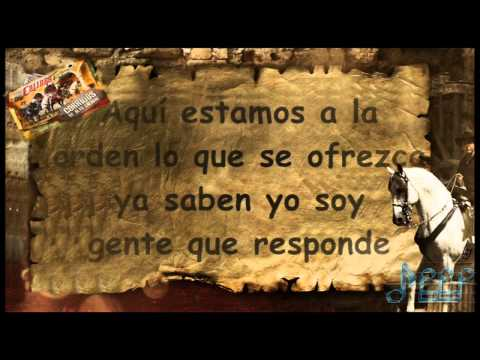 ►05 Calibre 50 El Zorro Letra [Corridos De Alto Calibre 2013] Estudio HD Completa