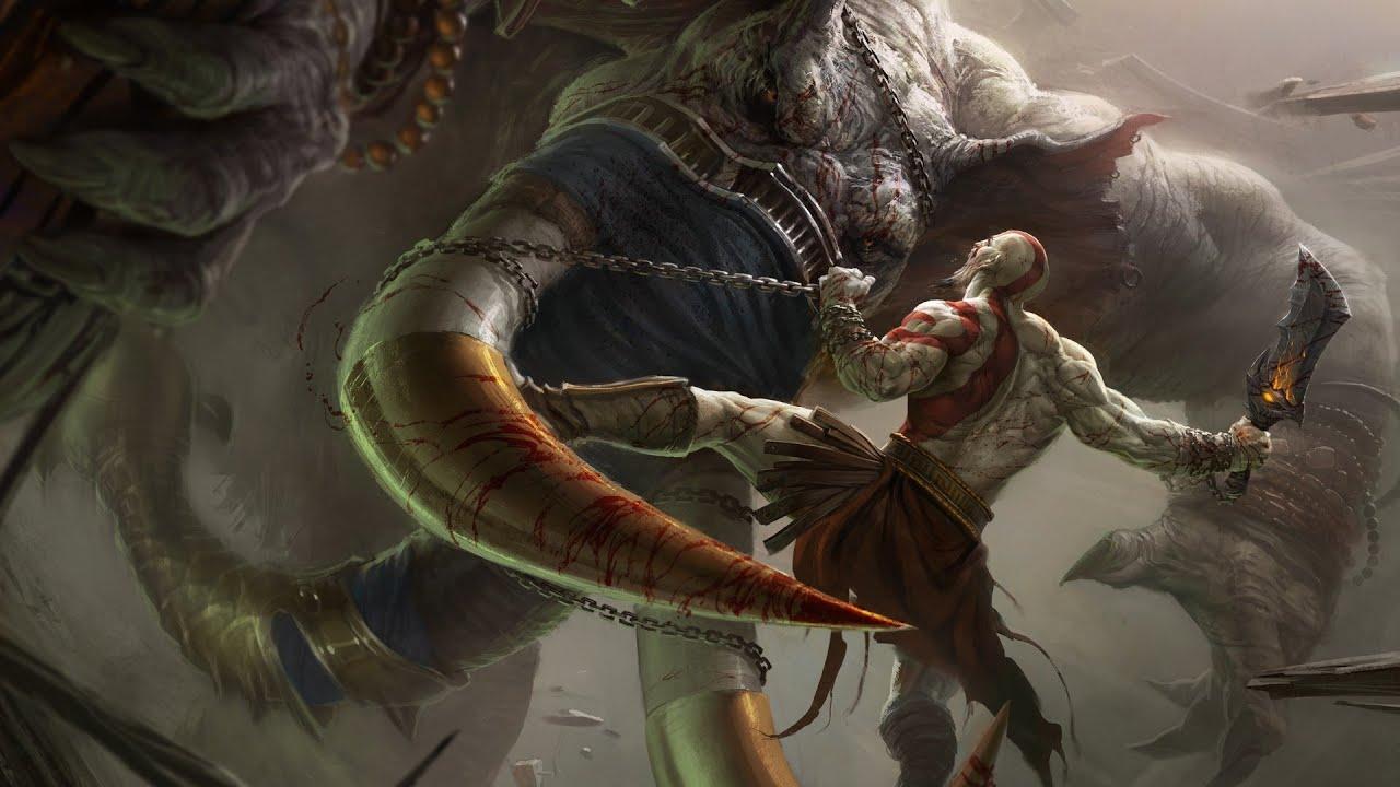 God of war ascension titan mode 11 shoulder of apollo youtube voltagebd Choice Image