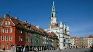 #Pologne les #monuments de la ville de#Poznan (city Poznan Poland )