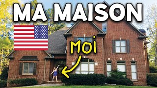 MA MAISON AUX USA ! (HOME TOUR)