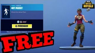 NEW FREE HOT MARAT EMOTE WRECK IT RALPH EMOTE NEW ITEM SHOP UPDATE (Fortnite Battle Royale)