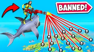 *6 CHEATERS* GET THE BANHAMMER!! - Fortnite Funny Fails and WTF Moments! #955