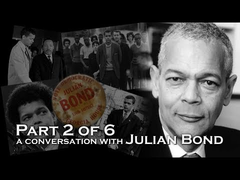 A Conversation with Julian Bond, part 2 of 6