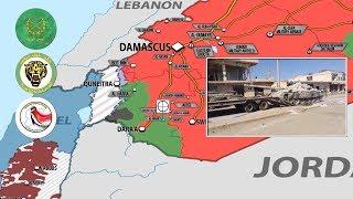 27 июня 2018. Военная обстановка в Сирии. Сирийские СМИ обвинили США в вывозе боевиков ИГИЛ.