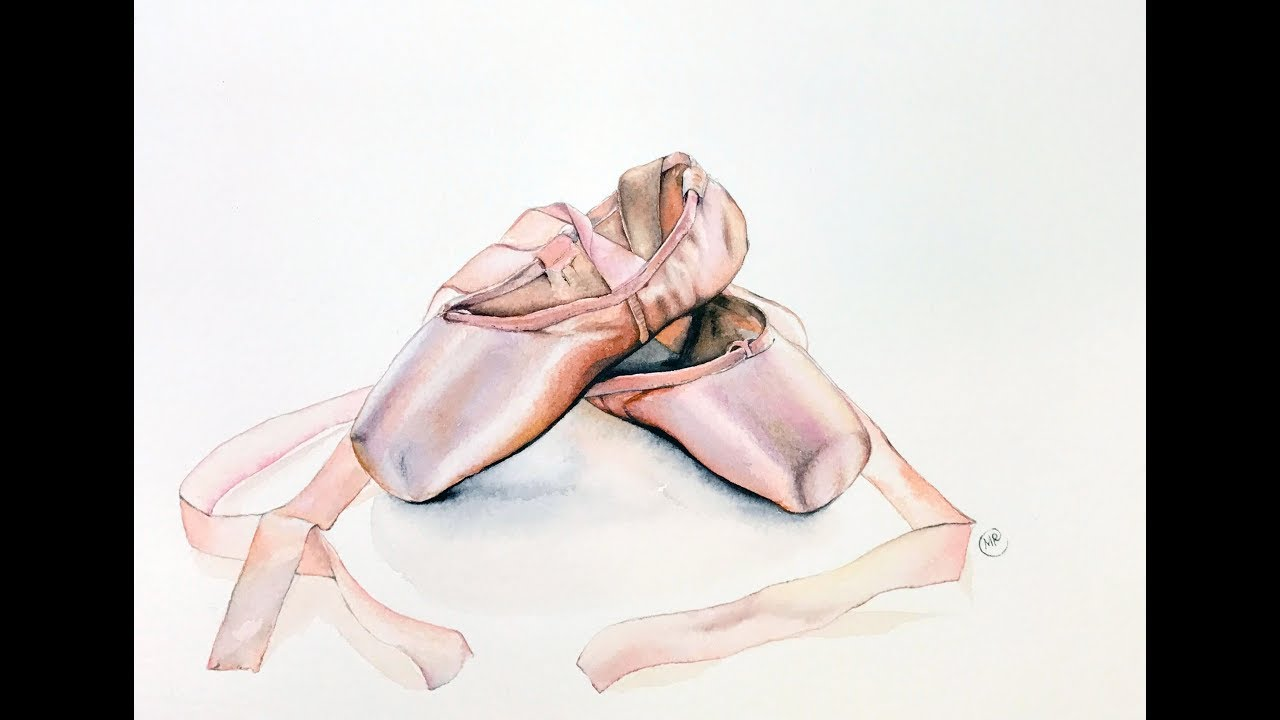 Red Ballet Shoes Picture