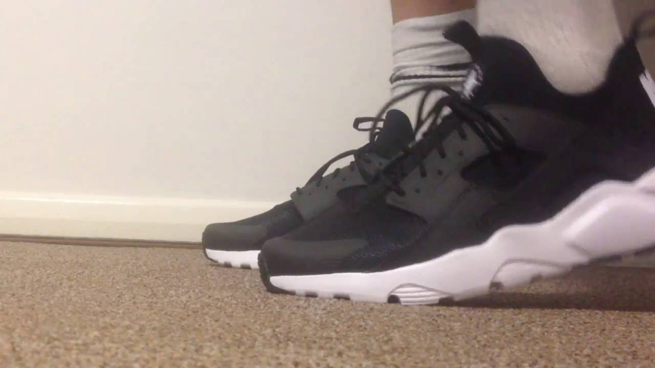 2175226c088b Nike Air Huarache Run Ultra - Unboxing On Feet - Perfect Fit - YouTube