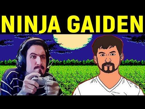 Некрос и Дядя Женя играют в Ninja Gaiden на Денди