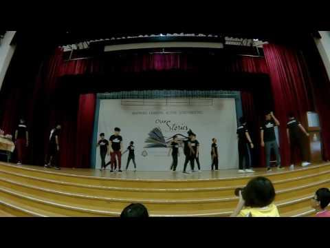 Sembawang Calisthenics Youth Run Performance 2K17