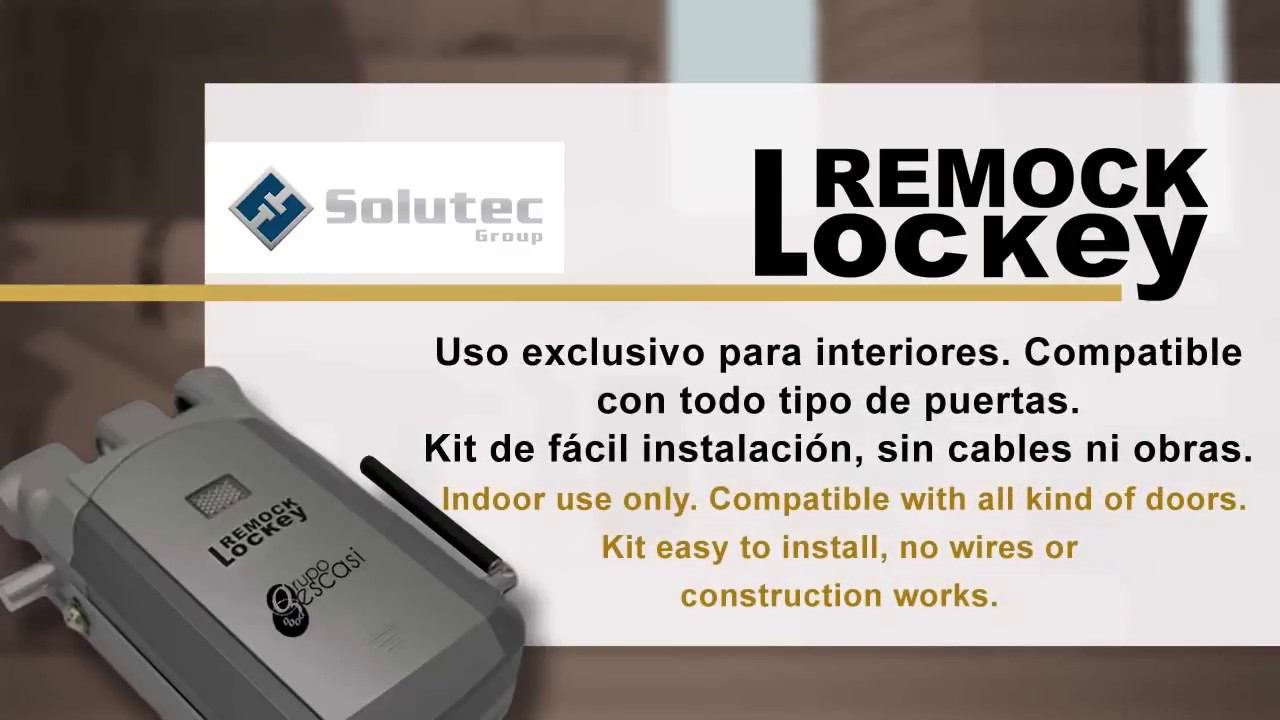 Instalacion Cerradura De Seguridad Invisible Remock Lockey Youtube