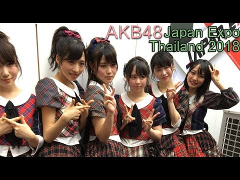 AKB48♡Japan Expo Thailand 2018 目玉イベントとして3年連続でタイ人を熱狂の渦に!