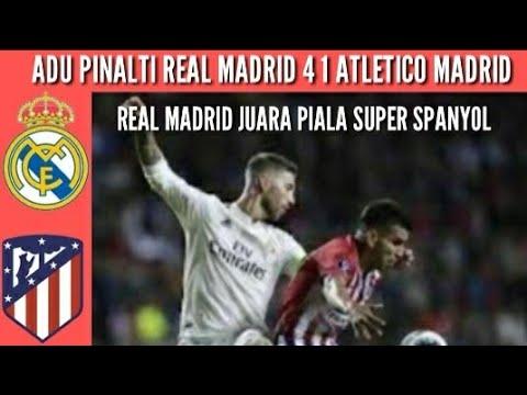 Hasil Final Piala Super Spanyol Tadi Malam -Real Madrid vs ...