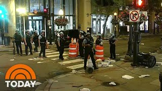 Looting And Rioting Break Out On Chicago's Magnificent Mile | TODAY