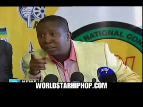 South African Leader Kicks Journalist Out For Being A White Supremacist!.mp4