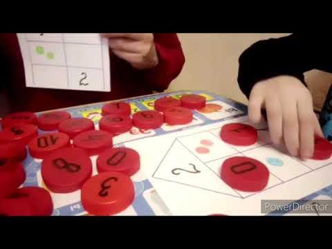 Математическая линейка для дошкольников своими руками