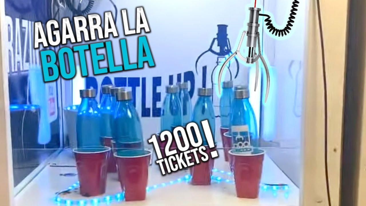 TICKETS AL DOBLE Levanta La Botella - MiniGames en el Mundo Real 135