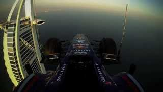 The Making of Red Bull Racing Burj Al Arab Helipad Stunts