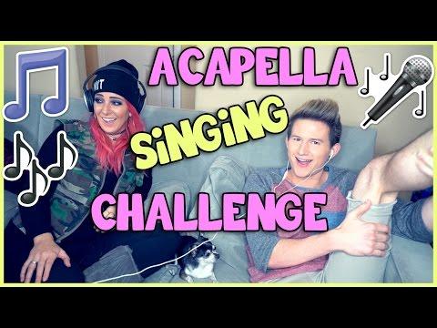 ACAPELLA SINGING CHALLENGE w/ JENNA MARBLES