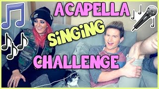 ACAPELLA SINGING CHALLENGE w/ JENNA MARBLES