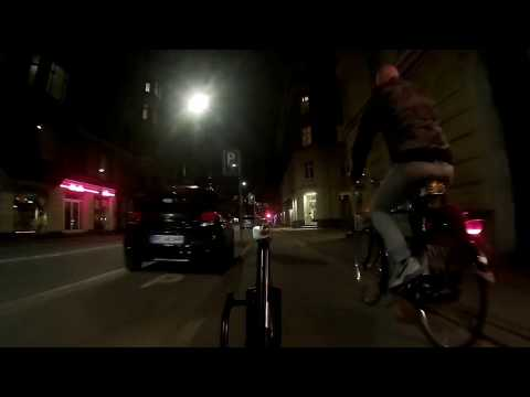 Copenhagen Cycling: Nørrebro to Vesterbro at Night