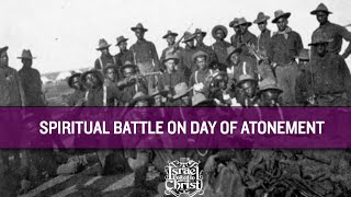 THE ISRAELITES: Spiritual War on the Day of Atonement