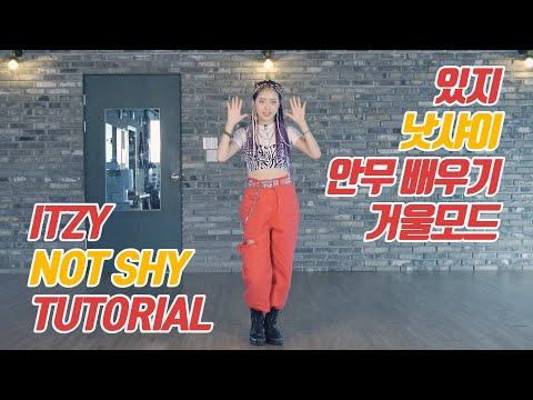 [튜토리얼] ITZY (있지) - NOT SHY (낫샤이) 커버댄스 안무 배우기 거울모드 (Mirrored)