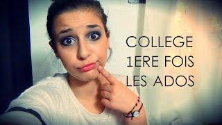 Vlog : Le collège, la première fois, l