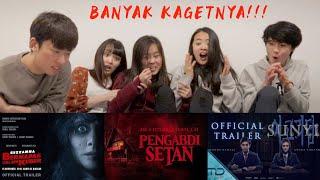 "SEREM BANGETT! NONTON FILM HORROR INDONESIA BARENG TEMEN"" DARI LUAR NEGERI!!"