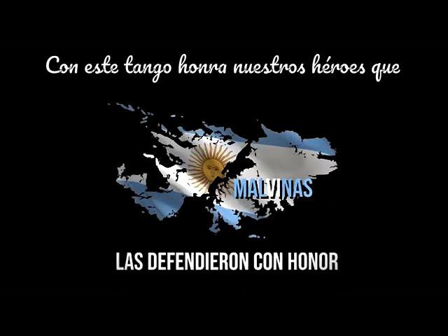 Un tango, tangazo argentino para honrar a argentinos veteranos y caidos en Malvinas. 2 de abril