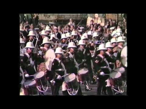Royal Marines Band Portsmouth Navy Days 1983