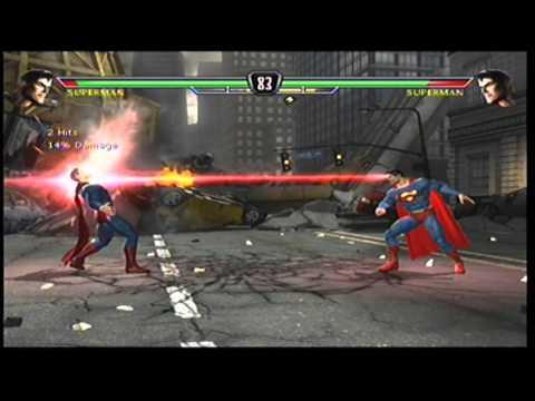Mortal Kombat vs.  DC Universe -  Superman Arcade Part 2