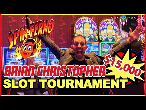 💰 $15,000 SLOT TOURNAMENT🙌  w/ Brian Christopher's #RUDIES 👫 ✦ San Manuel Casino in CA #AD