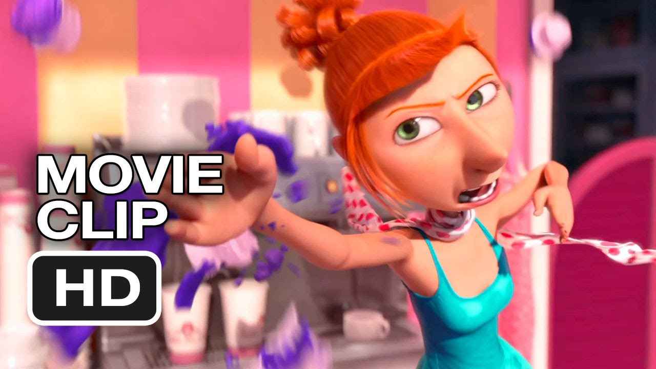 despicable me 2 movie clip cupcake shop 2013 steve. Black Bedroom Furniture Sets. Home Design Ideas