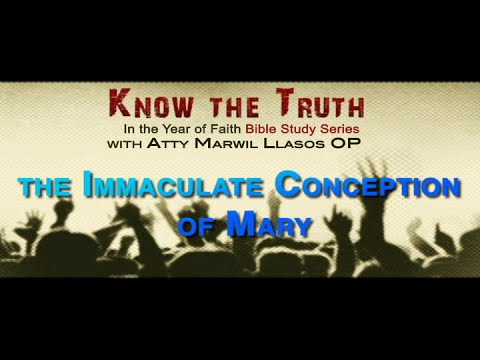 The Immaculate Conception of Mary