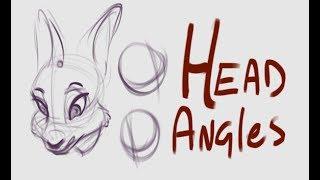 Furry Art 101 - Head Angles