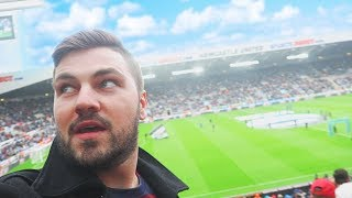 MY FIRST NEWCASTLE UNITED GAME