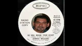 Johnny Williams - He Will Break Your Heart - Epic 10845 - Dj Promo