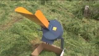 видео Измельчитель травы Кубанец